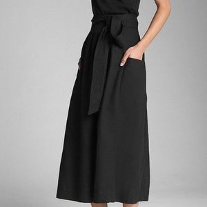 Gap women's tie-belt midi skirt